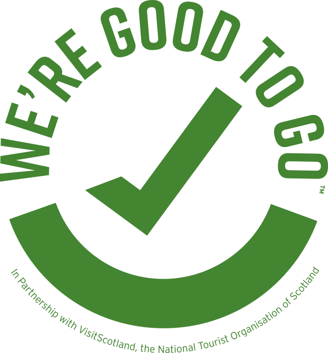 we are good to go logo with big green tick